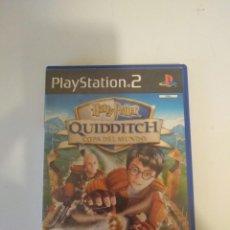 Videojuegos y Consolas: HARRY POTTER QUIDDITCH PLAYSTATION 2 PS2 FUNCIONADO. Lote 166201186