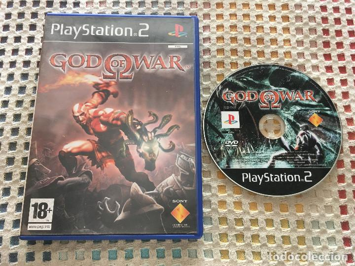 GOD OF WAR 1 I ps2 playstation 2 play station two kreaten