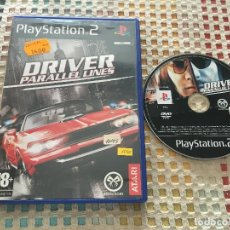Videojuegos y Consolas: DRIVER PARALLEL LINES PARALEL LINE ATARI PS2 PLAYSTATION 2 PLAY STATION TWO KREATEN. Lote 166493978