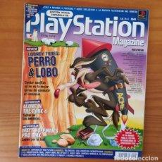 Videojuegos y Consolas: PLAYSTATION MAGAZINE 54, JUNIO 2001. LOONEY TUNES PERRO & LOBO, ALONE IN THE DARK 4, CRAZY TAXI.... Lote 166594118