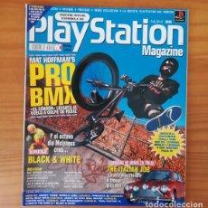 Videojuegos y Consolas: PLAYSTATION MAGAZINE 55, JULIO 2001. MAT HOFFMAN'S PRO BMX, BLACK & WHITE, THE ITALIAN JOB.... Lote 166594134