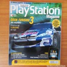 Videojuegos y Consolas: PLAYSTATION MAGAZINE 56, AGOSTO 2001. GRAN TURISMO 3, MEGAMAN LEGENDS 2, RUMBLE RACING.... Lote 166594166