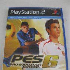 Videojuegos y Consolas: PRO EVOLUTION SOCCER 6 - PES 6 - JUEGO PARA PLAYSTATION 2.. Lote 166601712