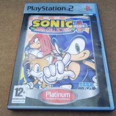 Jeux Vidéo et Consoles: JUEGO PS2 PLAYSTATION 2: SONIC MEGA COLLECTION PLUS (SEGA, 2006). EDICIÓN PLATINUM. INCLUYE MANUAL.. Lote 166615780