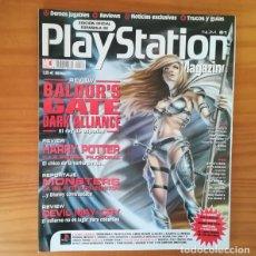 Videojuegos y Consolas: PLAYSTATION MAGAZINE 61, ENERO 2002. BALDUR'S GATE DARK ALLIANCE, HARRY POTTER, DEVIL MAY CRY.... Lote 166663354