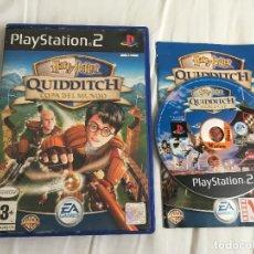 Videojuegos y Consolas: HARRY POTTER QUIDDITCH COPA DEL MUNDO PS2 PLAYSTATION 2 PLAY STATION TWO KREATEN. Lote 166699594