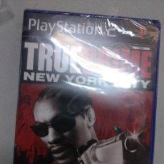 Videojuegos y Consolas: TRUE CRIME NEW YORK CITY - PS2 PLAYSTATION 2 - PRECINTADO NUEVO NEW - PAL ESP. Lote 166783838