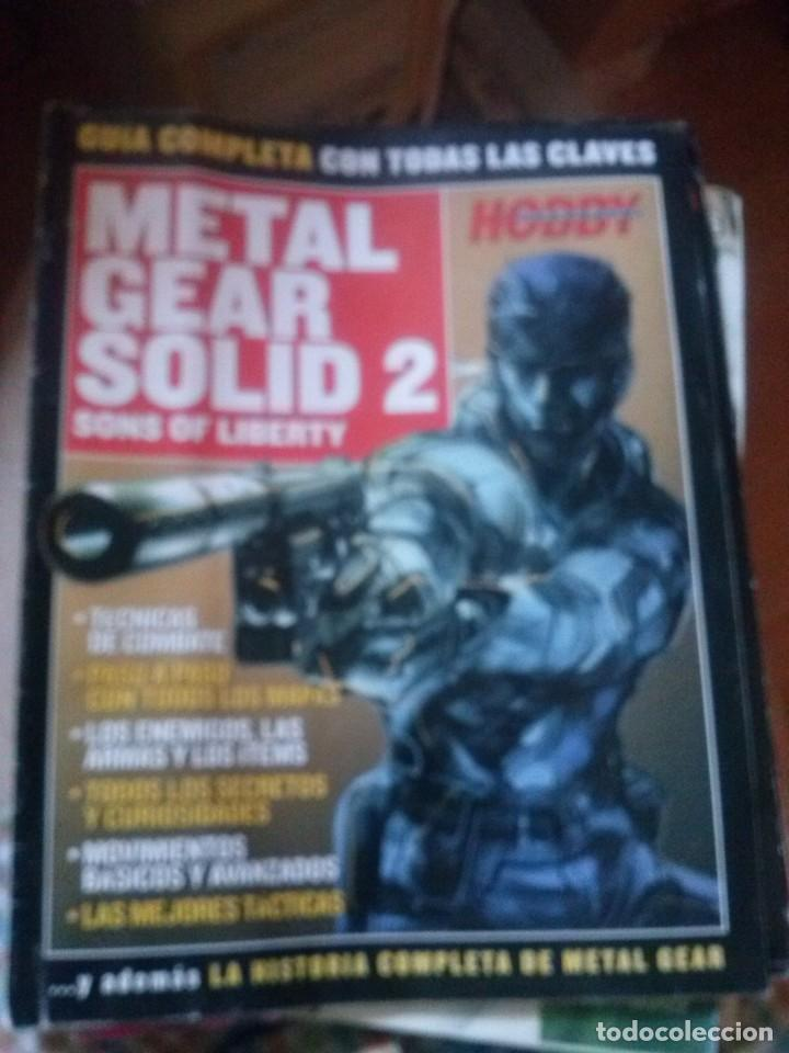 GUIA METAL GEAR SOLID 2 SONS OF LIBERTY (HOBBY CONSOLAS) (Juguetes - Videojuegos y Consolas - Sony - PS2)