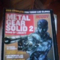 Videojuegos y Consolas: GUIA METAL GEAR SOLID 2 SONS OF LIBERTY (HOBBY CONSOLAS). Lote 166932656