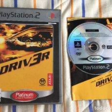 Videojuegos y Consolas: DRIVER DRIV3R 3 PLATINUM PS2 PLAYSTATION 2 PLAY STATION TWO. Lote 167041724