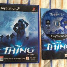 Videojuegos y Consolas: THE THING LA COSA PS2 PLAYSTATION 2 PLAY STATION TWO KREATEN. Lote 167045064