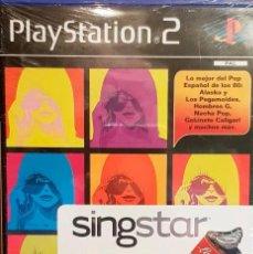 Videojuegos y Consolas: SINGSTAR LA EDAD DEL ORO DEL POP PLAYSTATION2. Lote 167549008