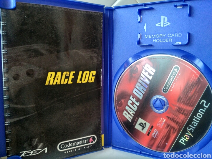 Pro race driver ps2 playstation juego - Sold at Auction