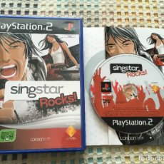 Videojuegos y Consolas: SINGSTAR ROCKS ROCK SINGS STAR PLAYSTATION 2 PLAY STATION TWO KREATEN. Lote 167672152
