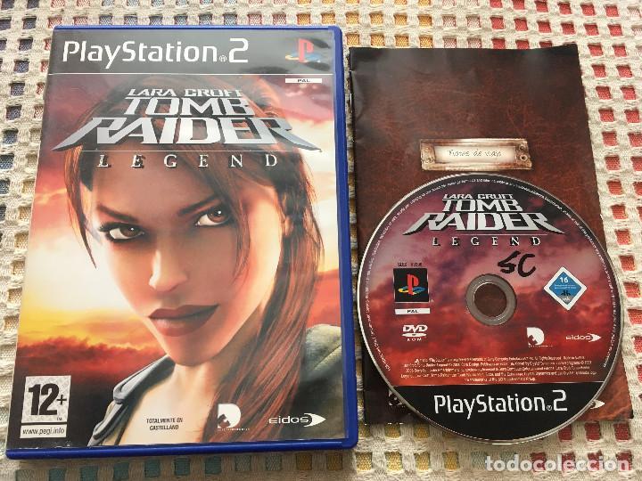 Lara Croft Tomb Raider Legend Playstation 2 Pla Buy Video Games