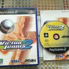Videojuegos y Consolas: VIRTUA TENNIS 2 SEGA PROFESSIONAL TENIS PS2 PLAYSTATION 2 PLAY STATION TWO KREATEN. Lote 167679756