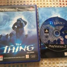 Videojuegos y Consolas: THE THING LA COSA PS2 PLAYSTATION 2 PLAY STAITON TWO KREATEN. Lote 167779680