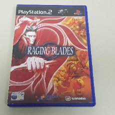 Videojuegos y Consolas: 619- RACING BLADES PS2 VERSION PAL CON MANUAL. Lote 167810448