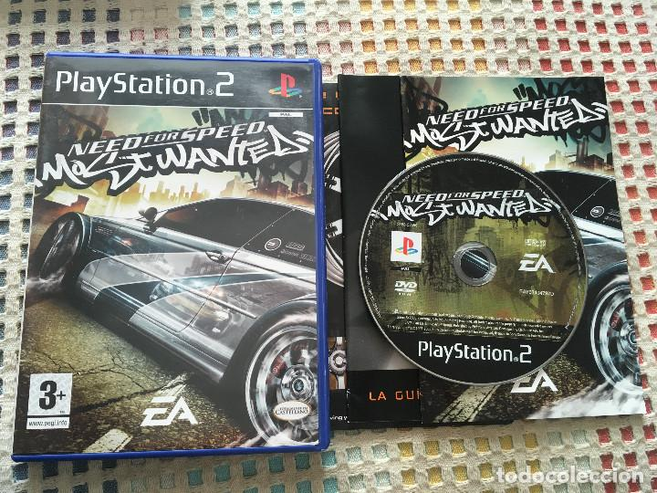 NEED FOR SPEED MOST WANTED NFS MW EA ps2 playstation 2 play station two  kreaten