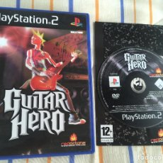 Videojuegos y Consolas: GUITAR HERO 1 RED OCTANE PS2 PLAYSTATION 2 PLAY STATION TWO KREATEN. Lote 168017416
