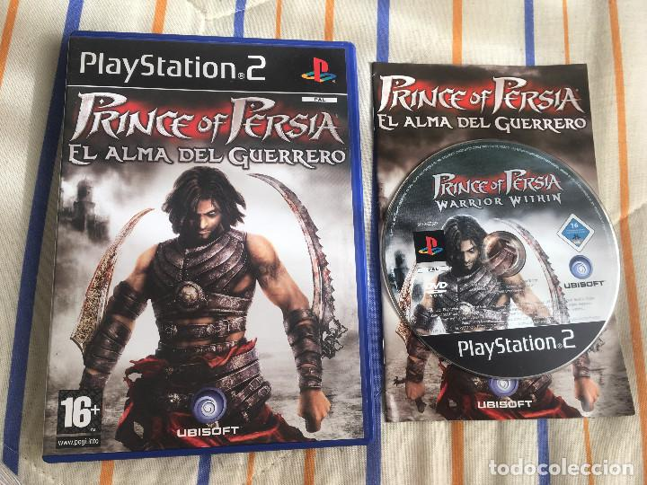 Prince Of Persia El Almadel Guerrero Warrior Wi Buy Video Games And Consoles Ps2 At Todocoleccion 168020208