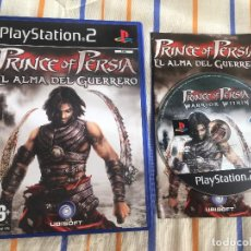 Videojuegos y Consolas: PRINCE OF PERSIA EL ALMADEL GUERRERO WARRIOR WITHIN PS2 PLAYSTATION 2 PLAY STATION TWO KREATEN. Lote 168020208