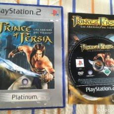 Videojuegos y Consolas: PRINCE OF PERSIA LAS ARENAS DEL TIEMPO THE SANDS OF TIME PLATINUM PS2 PLAYSTATION 2 PLAY KREATEN. Lote 168020456