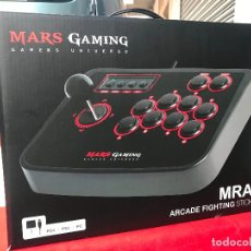 Videojuegos y Consolas: JOYSTICK MARS GAMING NUEVO A ESTRENAR - VALIDO PARA PC, PS2 Y PS3. Lote 168077052