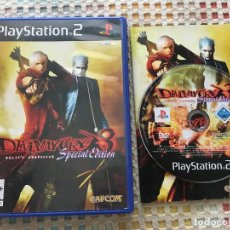 Videojuegos y Consolas: DEVIL MAY CRY 3 SPECIAL EDITION DANTE'S AWAKENING PS2 PLAYSTATION 2 PLAY STATION TWO KREATEN. Lote 168325144