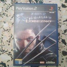 Videojuegos y Consolas: X MEN 2 LA VENGAZA DE LOBEZNO PLAYSTATION 2 FUNCIONANDO PS2 . Lote 168342180