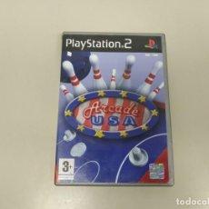 Videojuegos y Consolas: 619- ARCADE USA PS2 VERSION PAL ESPAÑA CON MANUAL. Lote 168554148