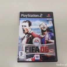 Videojuegos y Consolas: 619- FIFA 06 PS2 VERSION PAL ESPAÑA SIN MANUAL . Lote 168584980