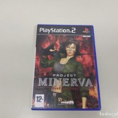 Videojuegos y Consolas: 619- PROJECT MINERVA PROFESSIONAL PS2 VERSION PAL SIN MANUAL . Lote 168597012