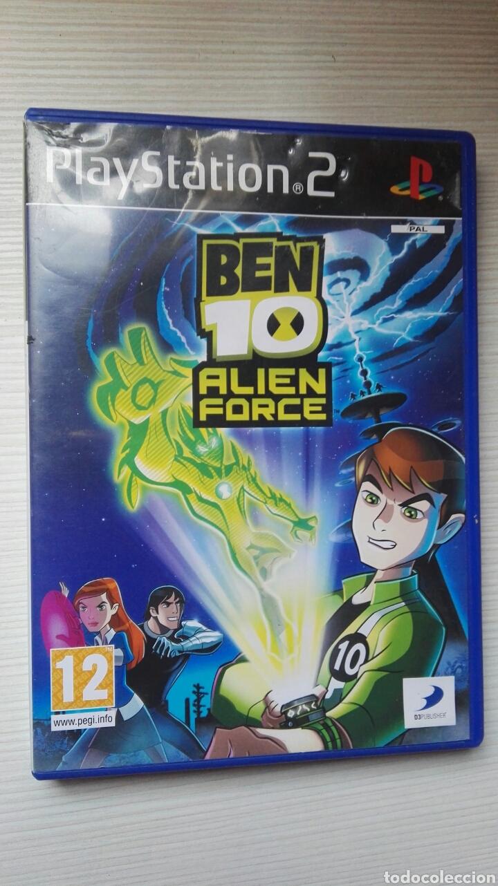 BEN 10 ALIEN FORCE PS2 (Juguetes - Videojuegos y Consolas - Sony - PS2)