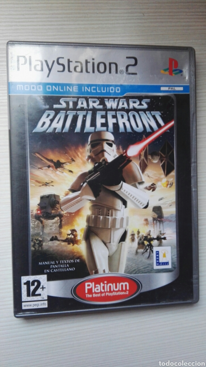 STAR WARS BATTLEFRONT PS2 (Juguetes - Videojuegos y Consolas - Sony - PS2)