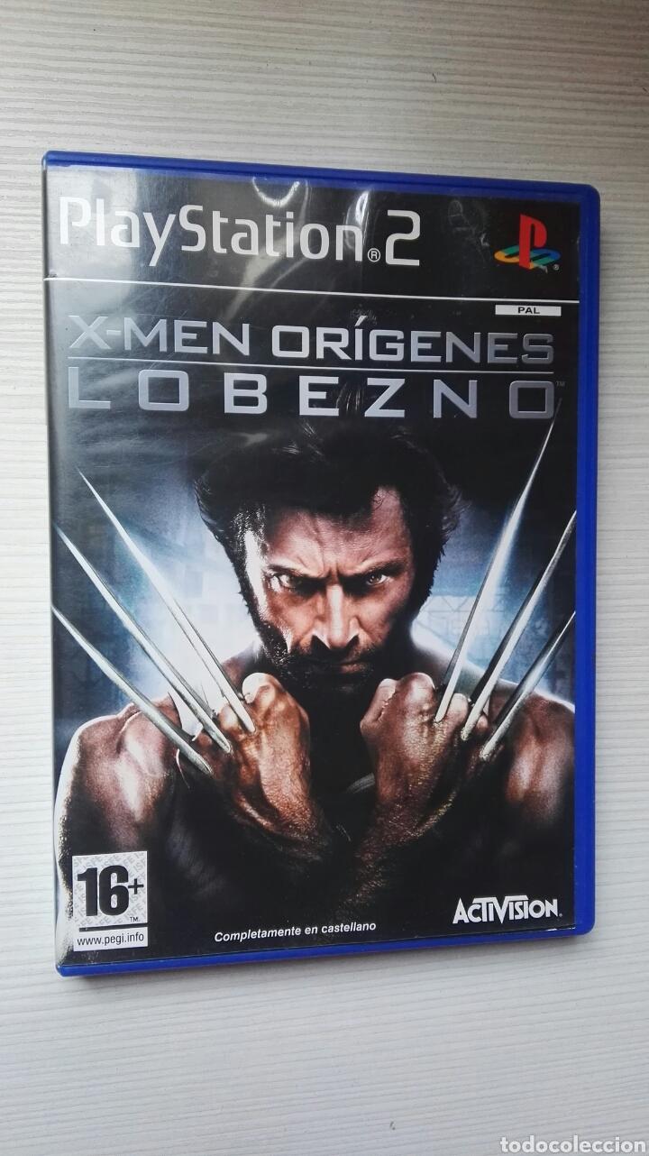 X-MEN ORÍGENES LOBEZNO PS2 (Juguetes - Videojuegos y Consolas - Sony - PS2)