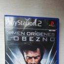 Videojuegos y Consolas: X-MEN ORÍGENES LOBEZNO PS2. Lote 168641914