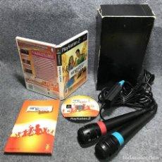 Videojuegos y Consolas: SINGSTAR LATINO+MICROFONOS SONY PLAYSTATION 2. Lote 168877550