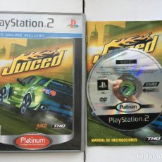 Videojuegos y Consolas: JUICED PLATINUM PS2 PLAYSTATION 2 PLAY STATION TWO KREATEN. Lote 169131720