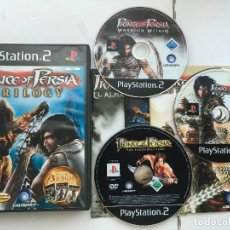 Videojuegos y Consolas: PRINCE OF PERSIA TRILOGY TRILOGIA PS2 PLAYSTATION 2 PLAY STATION TWO KREATEN. Lote 169132116
