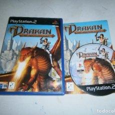 Videojuegos y Consolas: DRAKAN THE ANCIEN'S GATES PLAYSTATION 2 PAL ESPAÑA COMPLETO. Lote 169242112