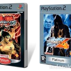 Videojuegos y Consolas: JUEGOS TEKKEN 5 Y 4 PS2 PAL ESP (VER DESCRIPCIÓN). Lote 102727847