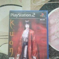 Videojuegos y Consolas: KUON PS2 JUEGO DE TERRO FUNCIONANDO PLAYSTATION 2. Lote 169789740