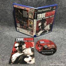 Videojuegos y Consolas: TRUE CRIME NEW YORK CITY SONY PLAYSTATION 2 PS2. Lote 170471358