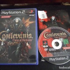 Videojuegos y Consolas: CASTLEVANIA CURSE OF DARKNESS - KONAMI PLASTATION 2 PAL 2006 COMPLETO. Lote 170551704