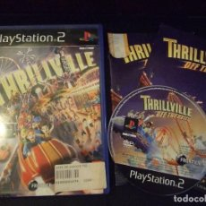 Videojuegos y Consolas: THRILLVILLE OFF THE RAILS - LUCASARTS , FRONTIER - PAL INGLES. Lote 222505041