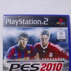 Videojuegos y Consolas: PES 2010 PRO EVOLUTION SOCCER KONAMI PLAY STATION 2. Lote 171240843
