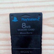 Videojuegos y Consolas: MEMORY CARD PLAYSTATION 2 ORIGINAL - 8 MEGAS. Lote 171507632