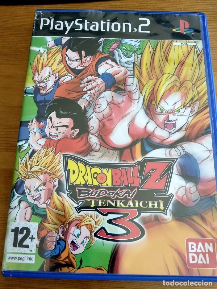 PS2 DRAGONBALL Z BUDOKAI TENKAICHI 3 DRAGON BALL PS3 PS4 PAL ESPAÑA