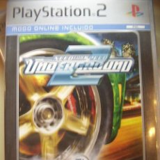 Videojuegos y Consolas: NEED FOR SPEED UNDERGROUND 2 ORIGINAL PARA PS2. SEMINUEVO.. Lote 171581489